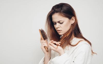Caída del cabello, alimentación y suplementación